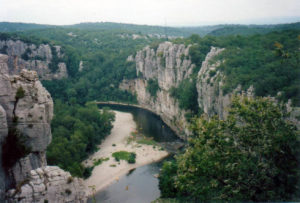 The Gorges du Chassezac
